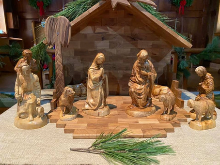 4:30 Christmas Eve service, 2020