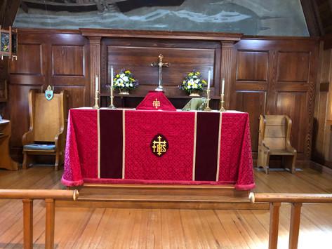 Pentecost Sunday, May 31, 2020