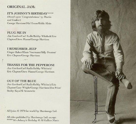 George Harrison Jams