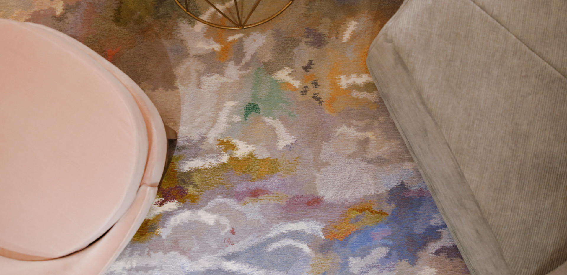 The Country State Development Offices | Monet Inspired Rugs