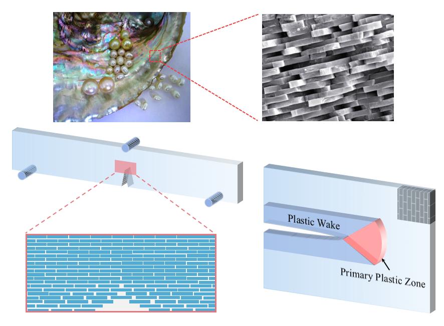 We establish a rigorous fracture mechanics framework for nacreous composites!
