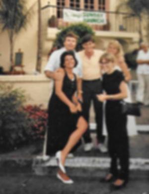 Bud Catalina circa 1985 w Marcia and Car