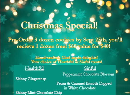 New Christmas Cookie Special!