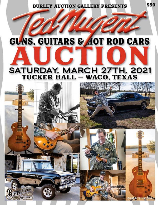 TED NUGENT AUCTION