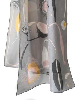 Till designs Miss Moss pink yellow Scalf