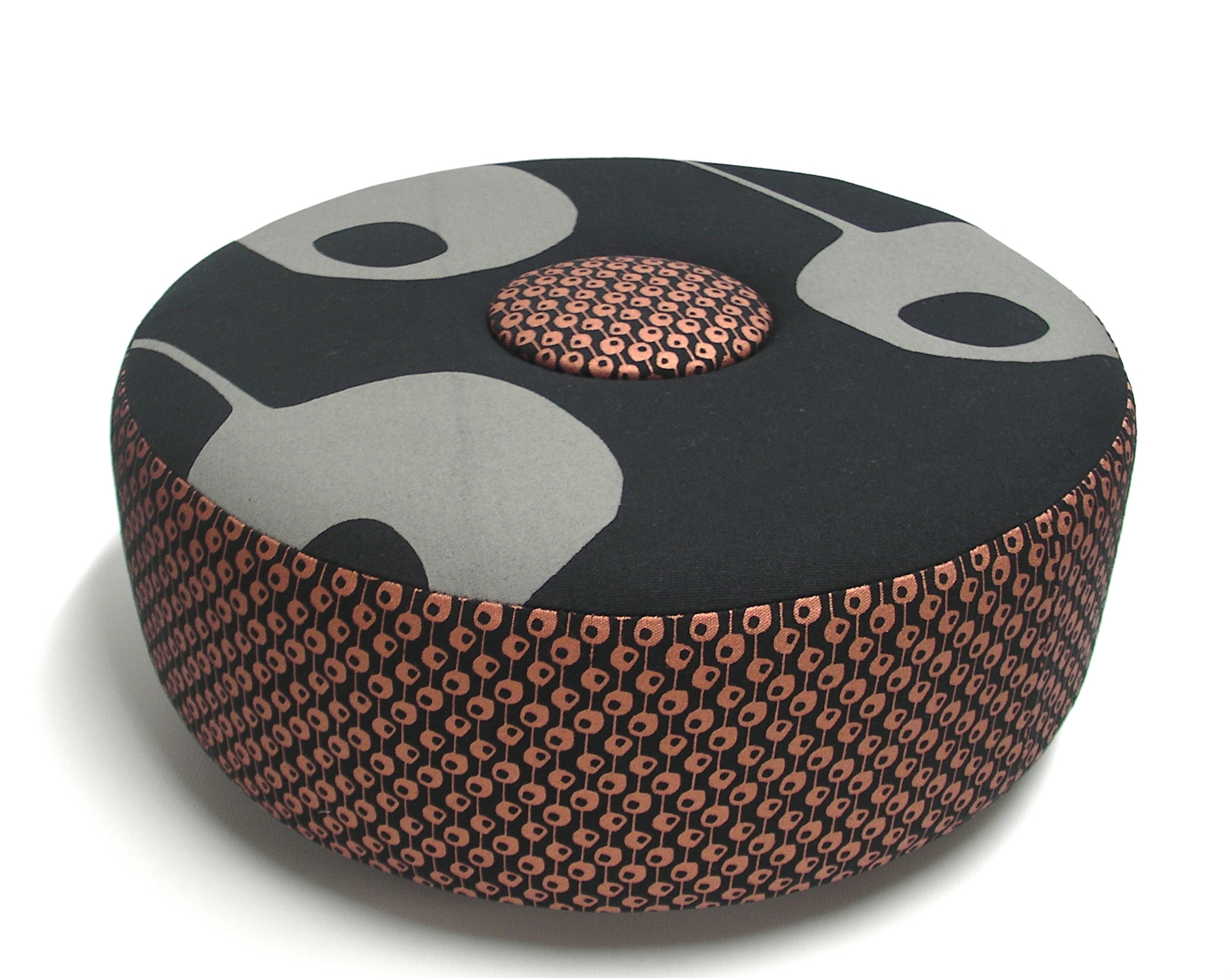 Till Julien copper_mud button stool ottomen