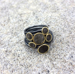 Concrete stack rings