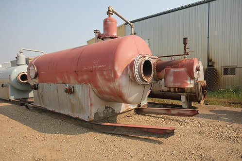 Field Run Larsen & D'Amico 6' x 16' 3-Phase 50 PSI Sweet Horizontal Treater