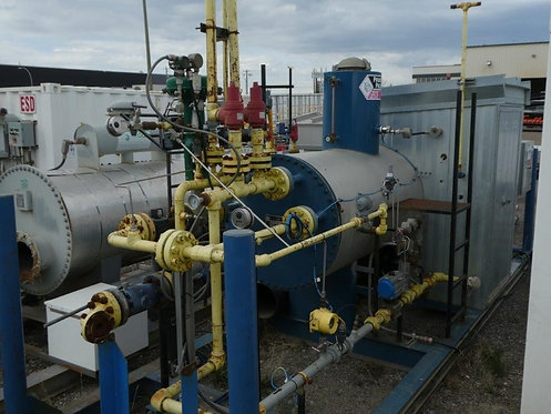 Field Run Priority Projects 2012 750,000 BTU/Hr. Indirect Fired Lineheater
