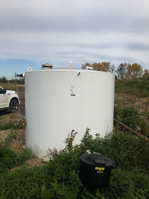Field Run Hot Pass 50 Bbl Double Wall Tank S/N 5047