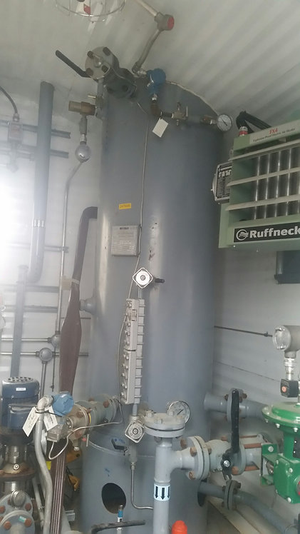 """Field Run Bromley 30"""" x 10' 2-Phase 275 PSI Sweet Vertical Separator"""