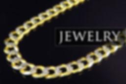 Gold Jewelry, Cuban Link, Diamond Necklace