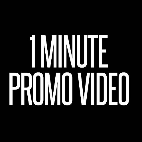 1 MINUTE PROMO VIDEO