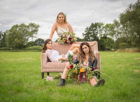 Yorkshire Wedding Photography: The Summer Bridal Photoshoot (on a Farm!)