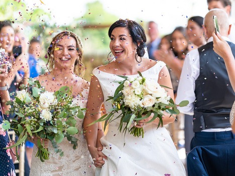 High House Farm Brewery Wedding Photography: Jane and Kirstie