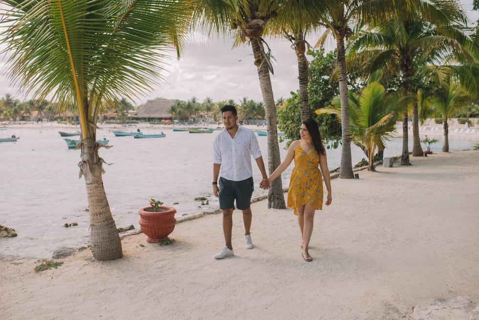 tulum, mexico, pre boda, playa