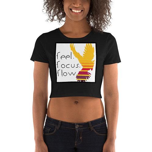 Women's Crop Tee Phoenix Rising