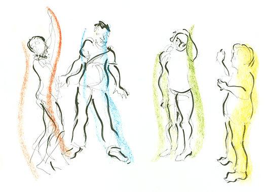 Dancers by Isobel Williams (artwork)