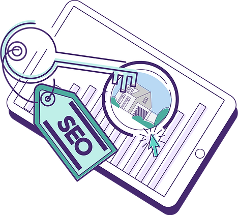 SEO and keywords leading to increased bookings on a property management company's responsive website