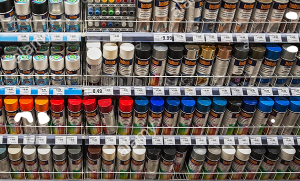 painter-supplies-shelf-with-paints-and-v