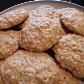 "Gluten-Free Vegan Banana ""Bread"" Cookies"