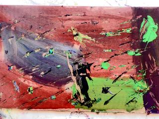 Explosion à l'acrylique