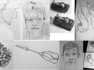 Cours de dessin  en Juillet Août!