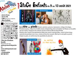 """Stage """"de la tête aux pieds"""""""