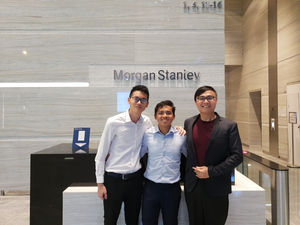 Morgan Stanley with Chen Qijian