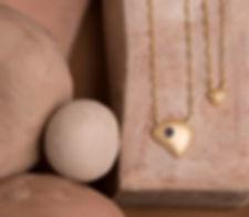 corrente em vermeil e pedras preciosas