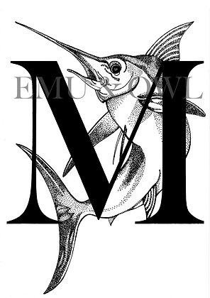 Marlin Letter M