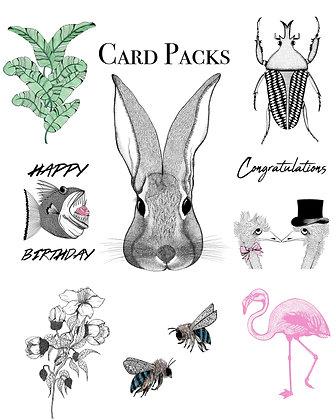 Greeting card pack