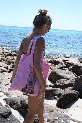 Bunny Linen Tote Bag