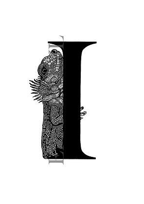 Iguana Letter I
