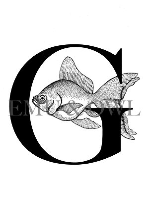 Goldfish Letter G