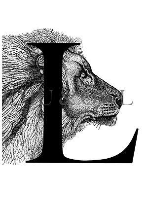 Lion Letter L