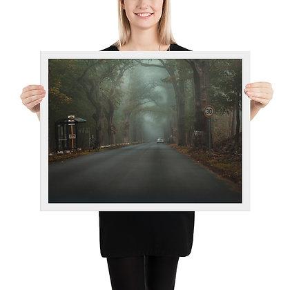 Framed poster, matte