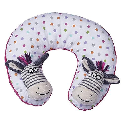 Maison Chic Travel Pillow, Zella The Zebra