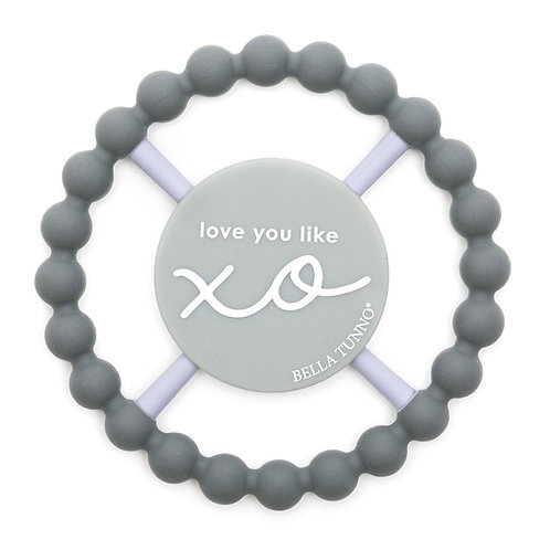 Love You Like XO Happy Teether