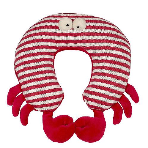 Maison Chic Travel Pillow, Skipper The Crab