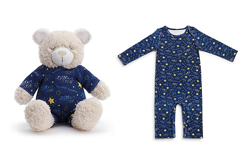 Jammie Pals Pajamas & Stuffed Animals Pajama Set
