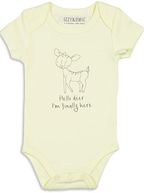 Baby Soft Deer Onesie