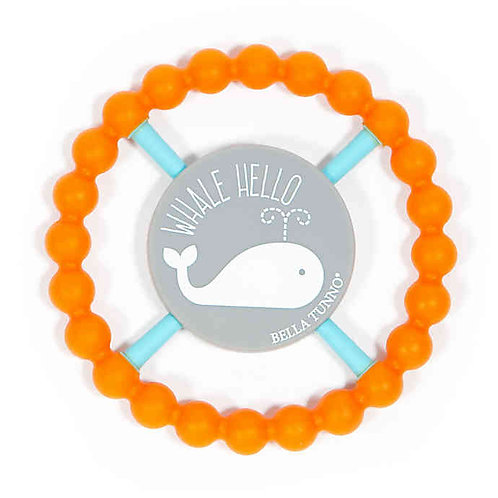 Whale Hello Happy Teether