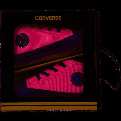 Converse High Top Sneaker, Pink