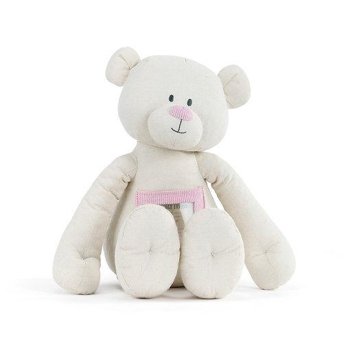 Pink Message Friend Bear
