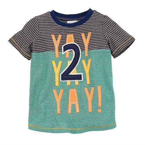 YAY 2 Birthday T-shirt