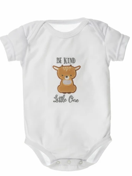 Be Kind Little One - Diaper Shirt