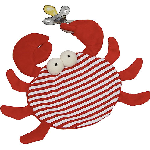 Maison Chic Skipper The Crab Pacifier Blankie