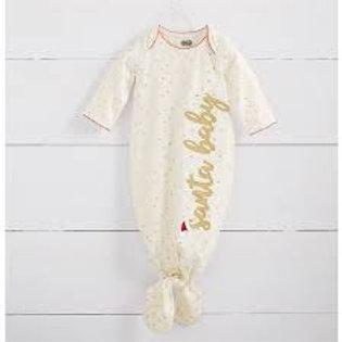Santa Baby Tie Sleep Gown