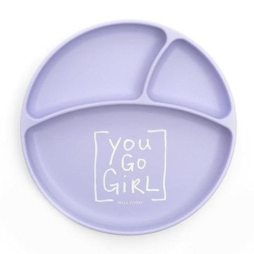 You Go Girl Wonder Plate